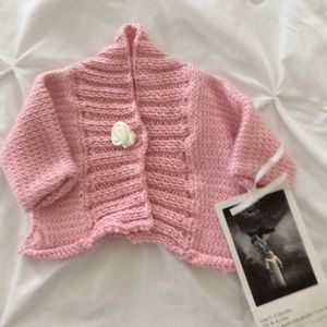 Infant Sweater Size 0-3 M